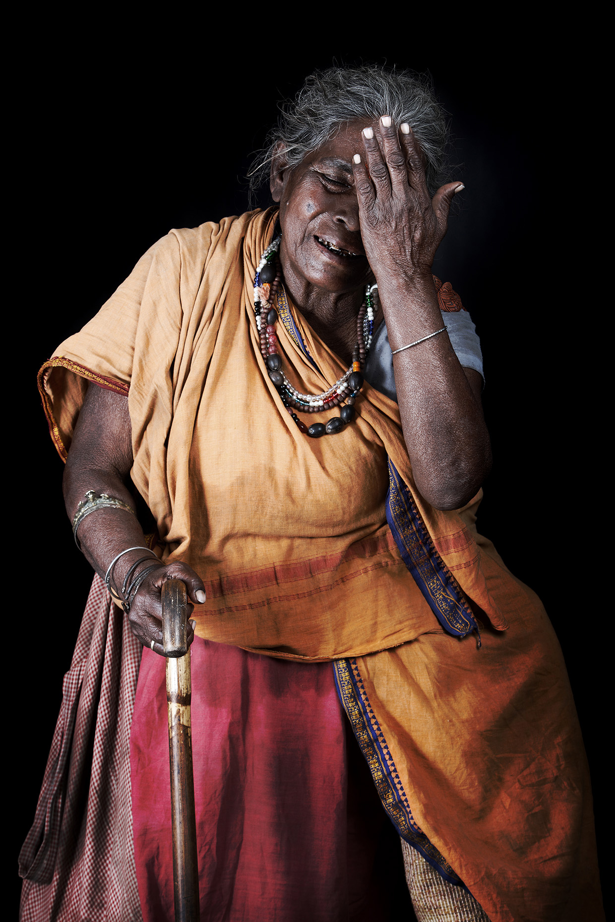 Beggar at the Kumbh Mela