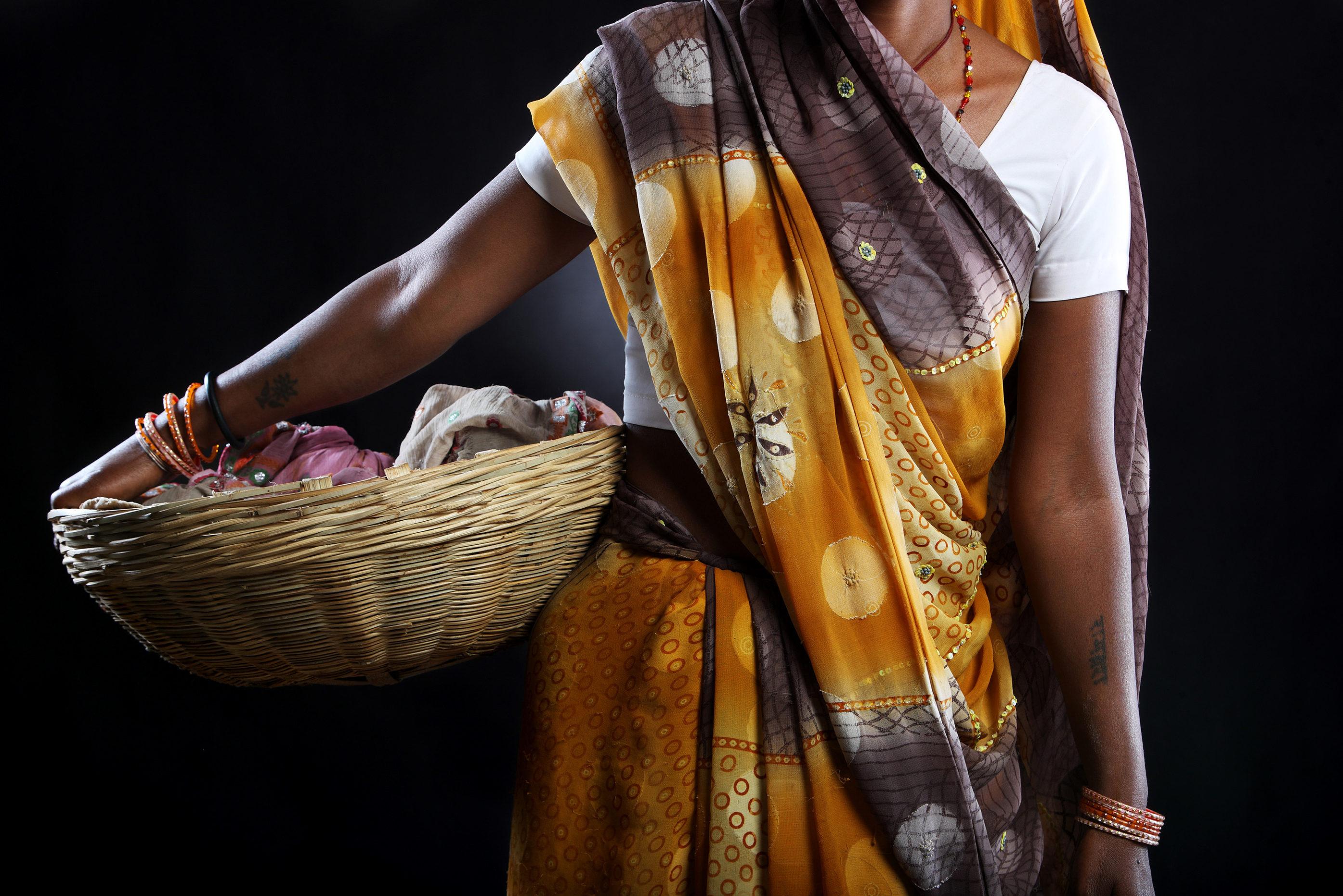 Colorfull Sari at the Kumbh Mela