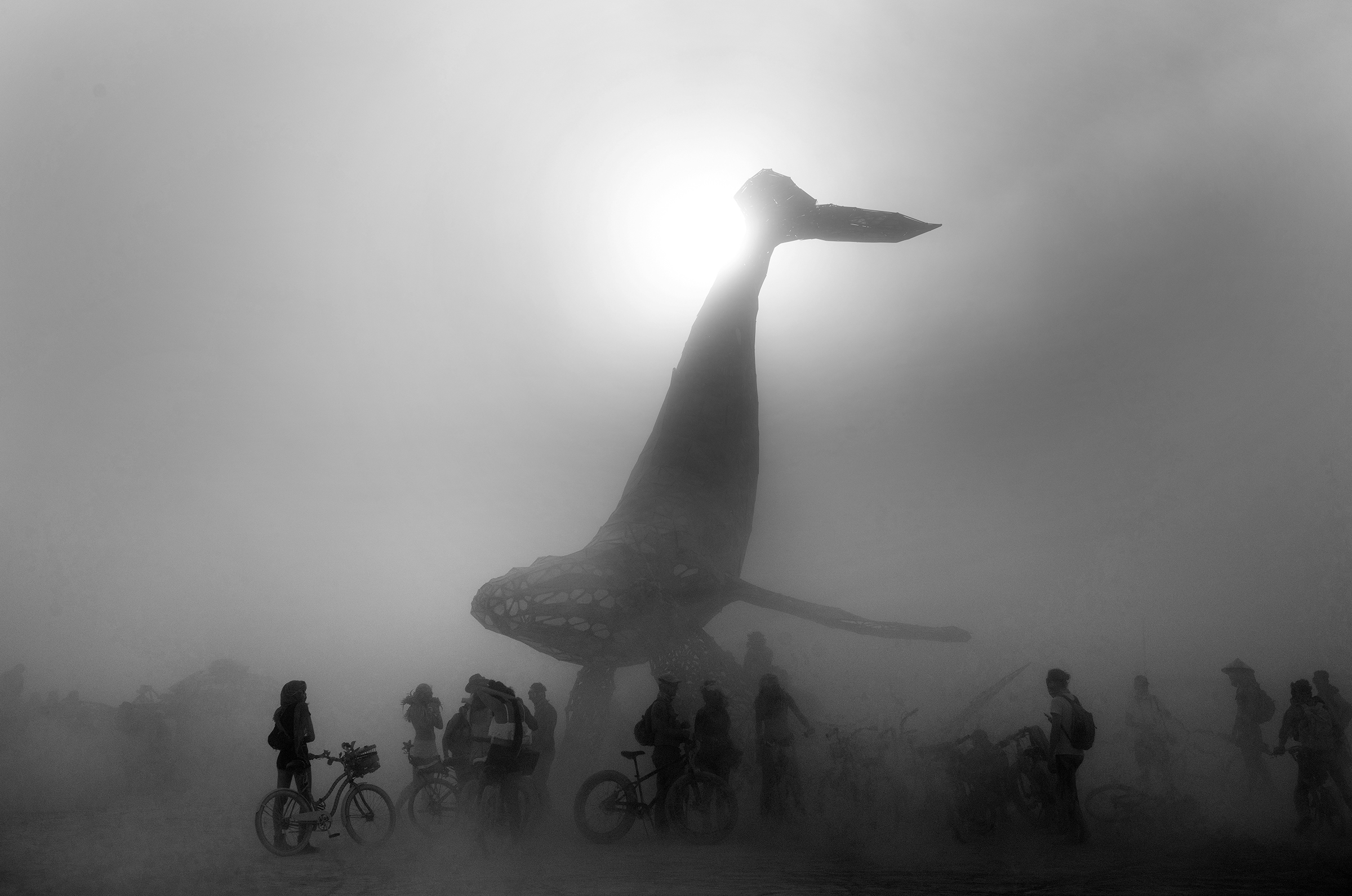 The Space Whale - Burning Man 2016