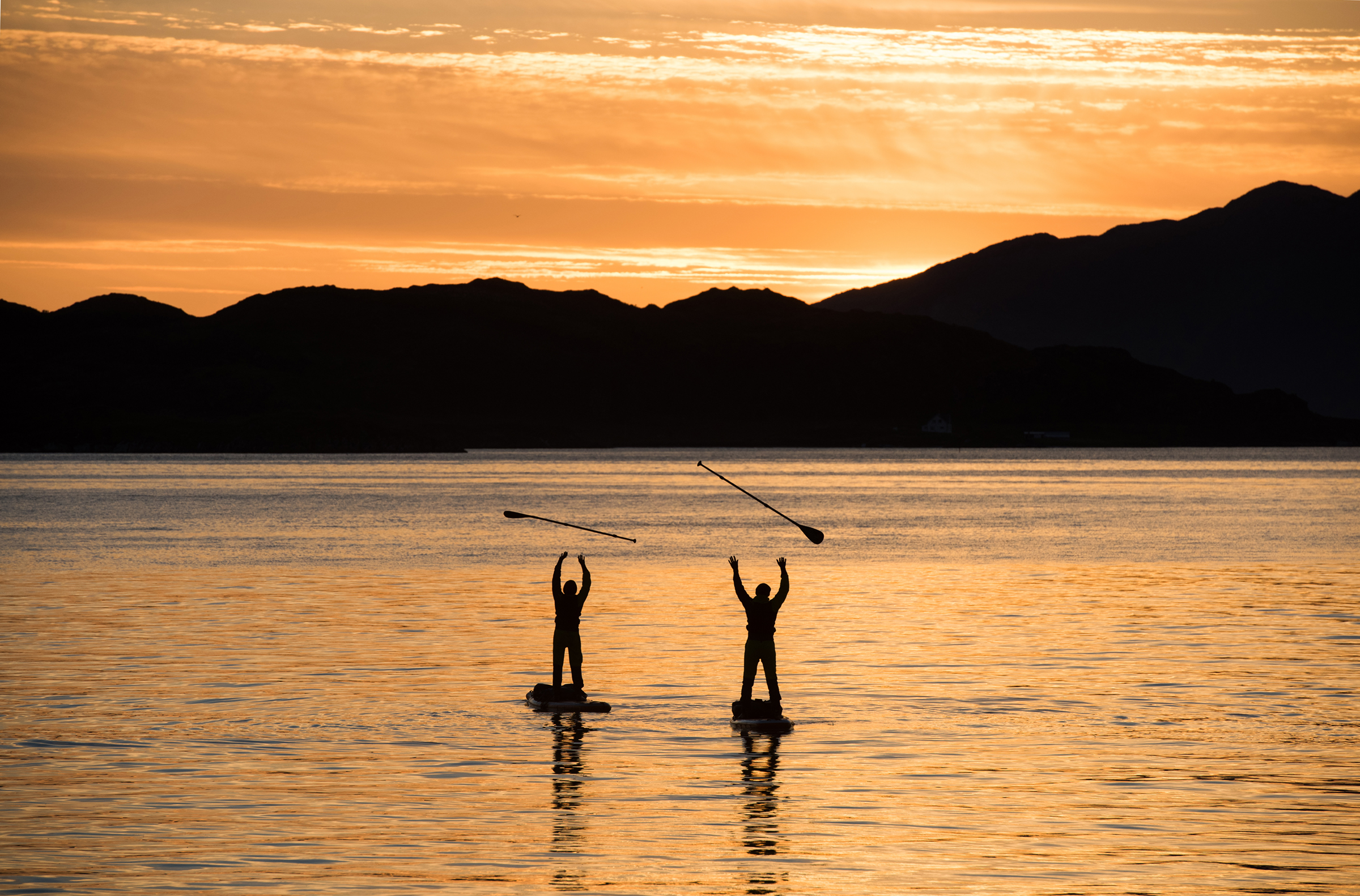 We often take for granted the things we see around us. from time to time it is good to celebrate life and express our gratitude towards the natural world we live in. SUP journey in northern Norway