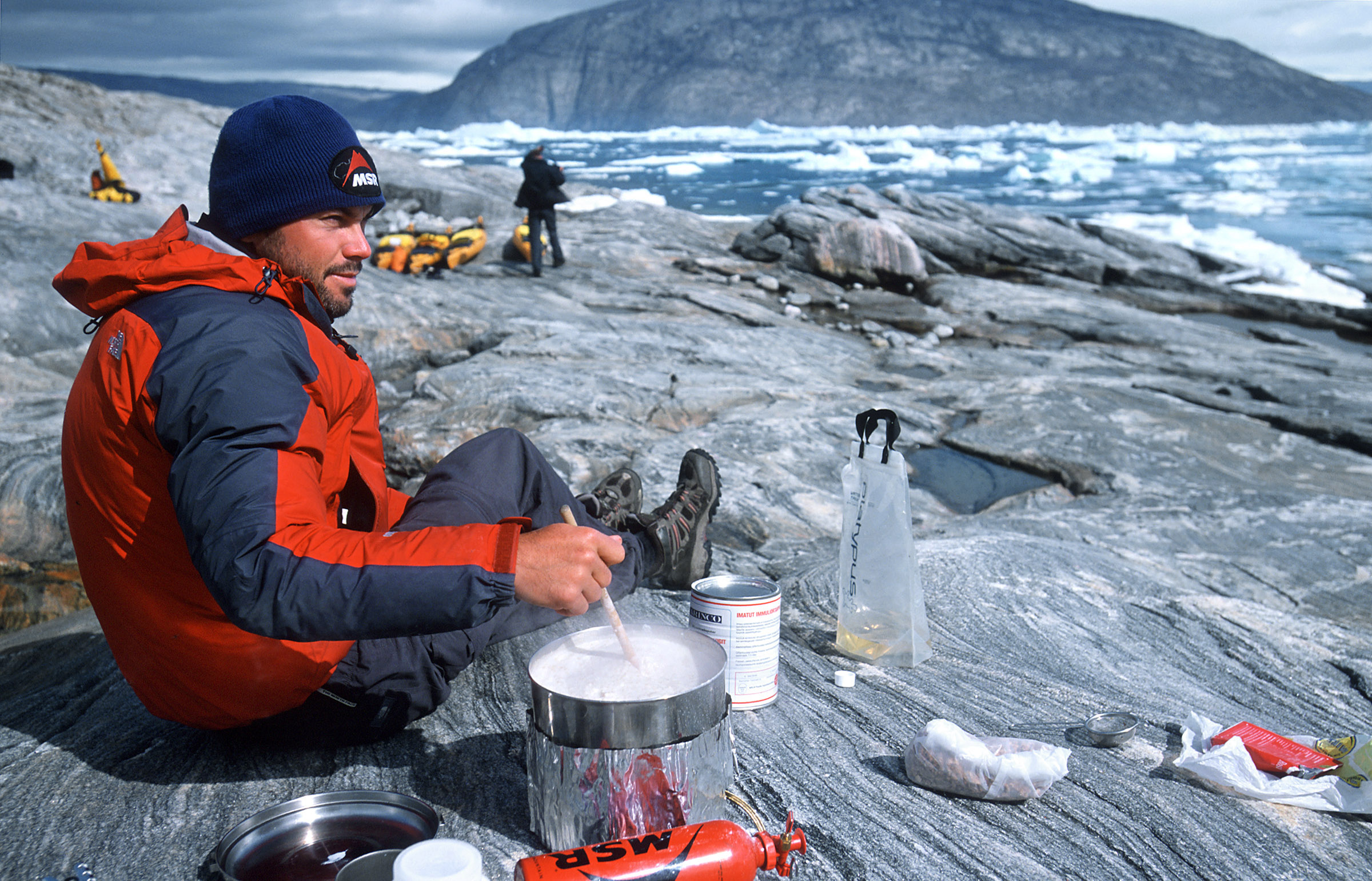 greenland-cooking-outdoor